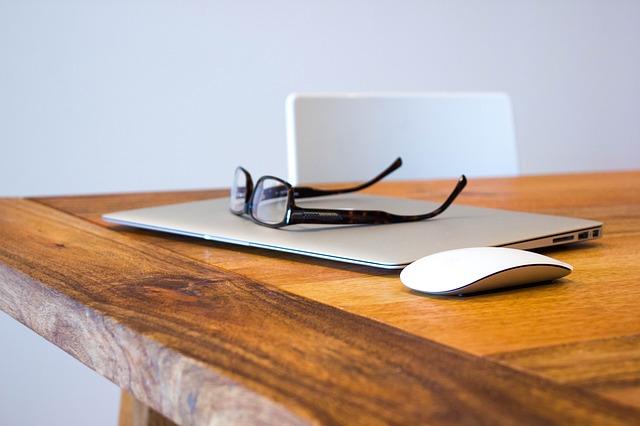 Macbook a brýle