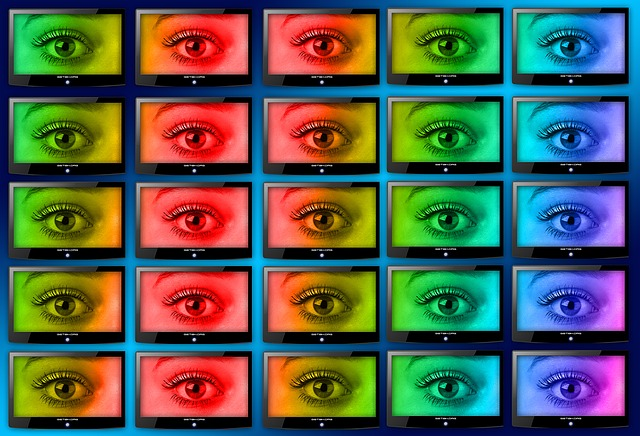 monitory a oči